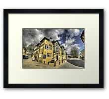 White Hart at Todmorden  Framed Print
