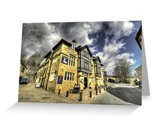 White Hart at Todmorden  Greeting Card
