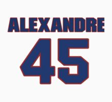 National Hockey player Alexandre Picard jersey 45 by imsport