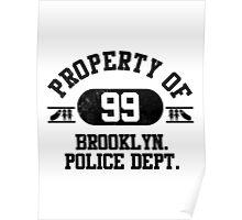 Precinct 99 (Black) Poster