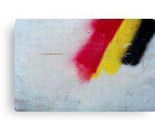 Red, Yellow, Black Canvas Print