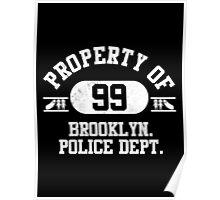 Precinct 99 (White) Poster