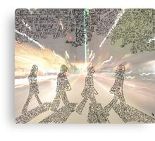The Beatles Tribute - Abbey Road Canvas Print