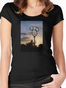 Orlando Sunset Women's Fitted Scoop T-Shirt