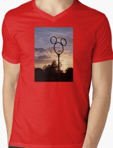Orlando Sunset Mens V-Neck T-Shirt