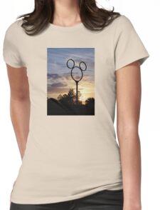 Orlando Sunset Womens Fitted T-Shirt