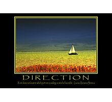 Direction  Photographic Print
