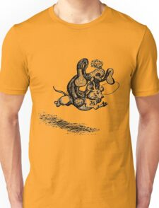 Ride 'em Sock Monkey! Unisex T-Shirt