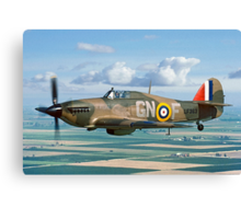 Hurricane IIc LF363 over the Fens Canvas Print
