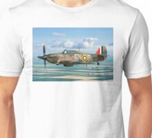 Hurricane IIc LF363 over the Fens Unisex T-Shirt