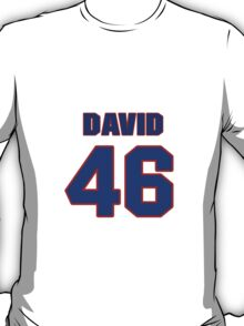 National Hockey player David Booth jersey 46 T-Shirt