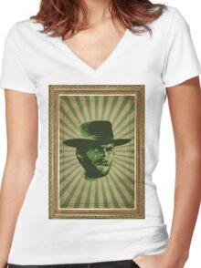 Clint Women's Fitted V-Neck T-Shirt