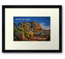 """Cleft For Me"" Framed Print"