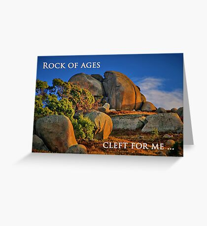 """Cleft For Me"" Greeting Card"