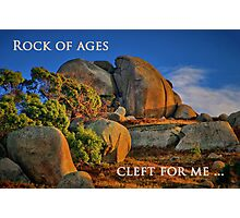 """Cleft For Me"" Photographic Print"