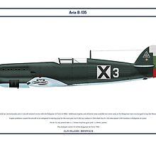 Avia B-135 Bulgaria 1 by Claveworks