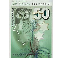 50 Old Swiss Francs Note by Nornberg77