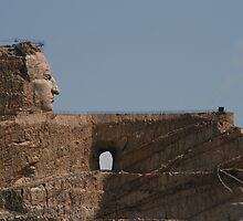 Crazy Horse Monument, work in progress, South Dakota USA May 2007 by Tim Light