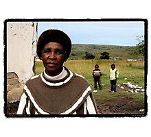 Mrs. Mangisa Photographic Print