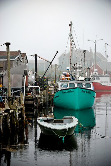 Fishing boat Peggy's Cove by serendipitous