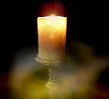 Candle of Peace by Marie Sharp