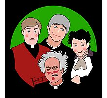 Father Ted Photographic Print