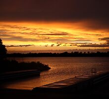 Sunset On The St. Lawrence by DJ Fortune