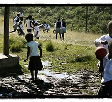 South African School Yard by Joe Mckay
