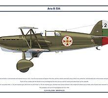 Avia B-534 Bulgaria 1 by Claveworks