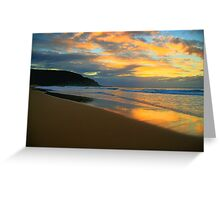 Light On The Sand - Palm Beach - Sydney Beaches - The HDR Series Greeting Card