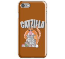 Catzilla iPhone Case/Skin