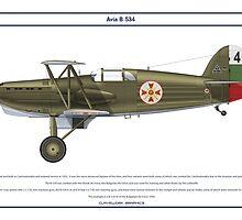 Avia B-534 Bulgaria 2 by Claveworks