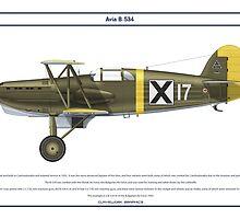 Avia B-534 Bulgaria 3 by Claveworks