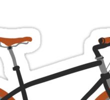 illustration of  vintage bicycle Sticker