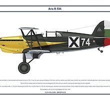 Avia B-534 Bulgaria 4 by Claveworks