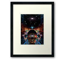 Space Time 077 Framed Print