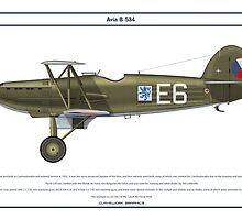 Avia B-534 Czech 1 by Claveworks