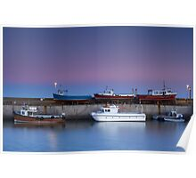 Seahouses Stack Poster