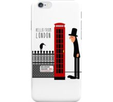 Red Booth iPhone Case/Skin