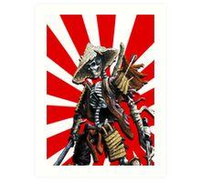 death of a samourai Art Print