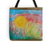 Sun scream Tote Bag