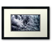 Cloud Formation 1 Framed Print