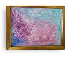 Purple Species Canvas Print