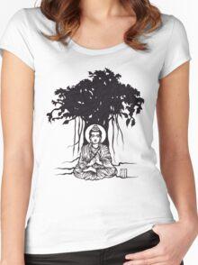 Enlightening Spirit t-shirt Women's Fitted Scoop T-Shirt