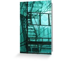 scaffold stair Greeting Card