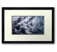 Cloud Formation 2 Framed Print