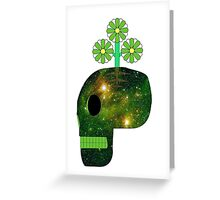 Green in mind Greeting Card