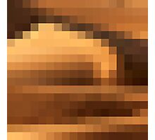 A wavy dune in the Sahara Photographic Print