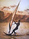 The Windsurfer by Linda Callaghan