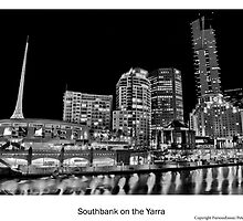 Southbank on the Yarra by FuriousEnnui
